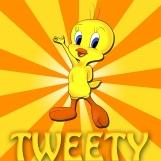 tweety_bird___commission_by_naffer_art-d5hamj5